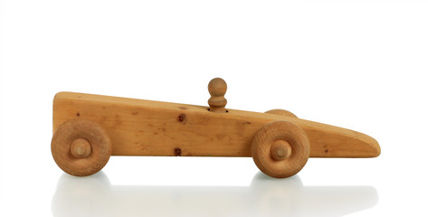 Toy Car in Wood