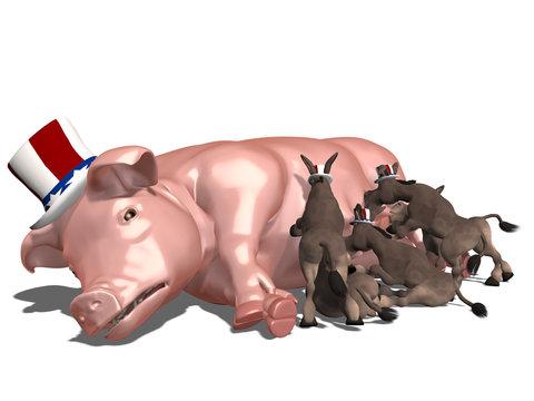 Feeding on Government Pork
