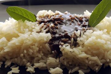 Chocolate risotto Risotto al cioccolato  烩饭和巧克力