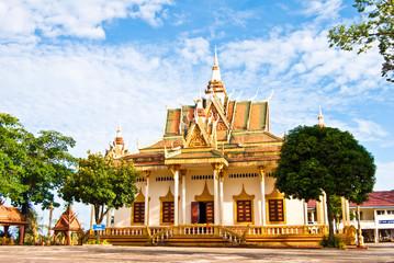 Wat Krom or Down Pagoda, Sihanoukville, Cambodia