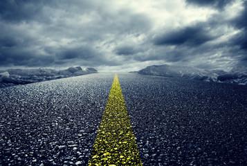 Fototapete - Rocky Road