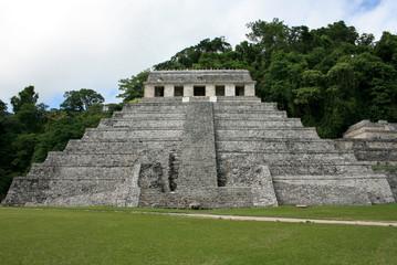 Fototapeta Świątynia Inskrypcji, Palenke, Meksyk obraz