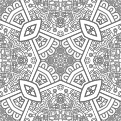 Square ornamental pattern