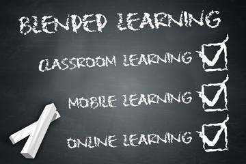 "Blackboard ""Blended Learning"""