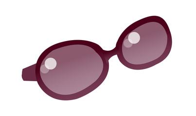 vector icon sunglasses