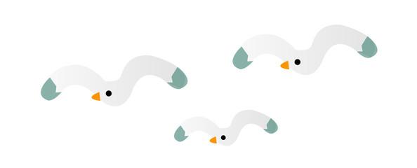 vector icon seagull