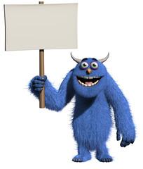 Spoed Fotobehang Sweet Monsters Monster