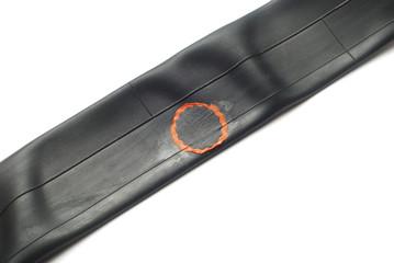 repaired inner tube