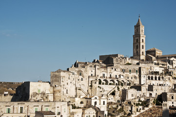 the small city of Matera