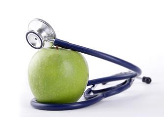 apple and stetoskop