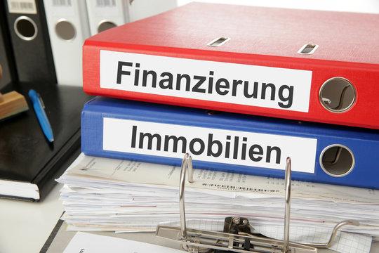Aktenordner Finanzierung und Immobilie