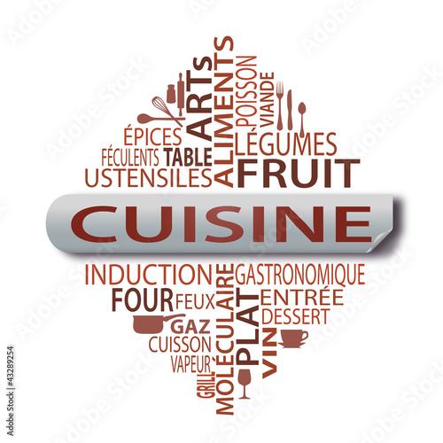 Nuage de mots cuisine photo libre de droits sur la for Cuisine 4 images 1 mot