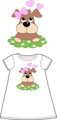 pattern for childrens wear clothing