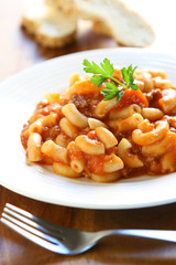 Macaroni Pasta with Beef