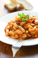 Macaroni Pasta with Beef