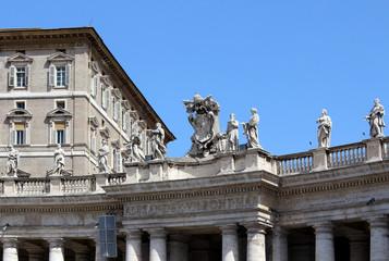 Am Petersplatz in Rom
