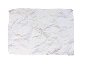 Crumpled paper A4