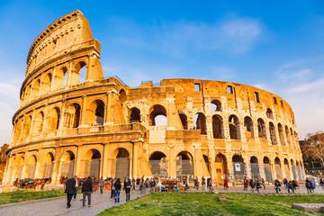 Poster Rome Coliseum in Rome