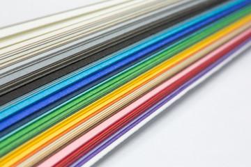 varicolored lines