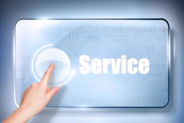 Service Touchscreen
