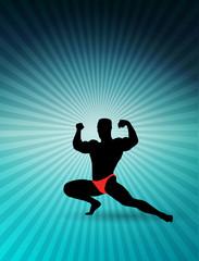 Sport gym illustration