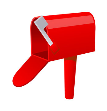 vector icon letter box