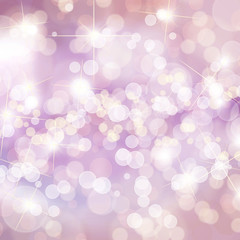 Colorful defocused lights background with copy space