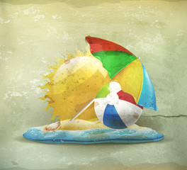 Summer, old-style