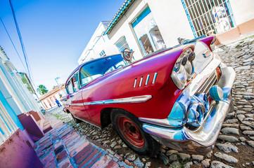Foto op Plexiglas Oude auto s voiture ancienne de cuba