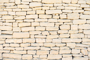 Stone wall background, pattern, wallpaper in Provence, Cote Azur