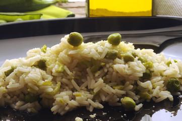 大米和豌豆 쌀과 완두콩 Arroz y guisantes Reis und erbsen