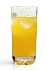 Chilled orange drink.