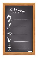 Restaurant Chalkboard Menu