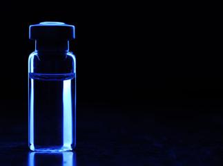 Vials of medication