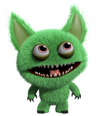 Canvas Prints Sweet Monsters 3d monster