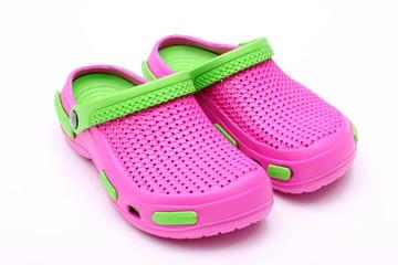Kolorowe letnie buty