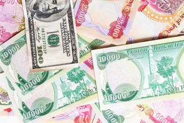 Iraqi Dinar and a hundred dollars