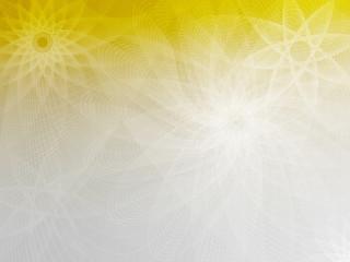 Yellow-Gray mesh flower background FlowerStar CW