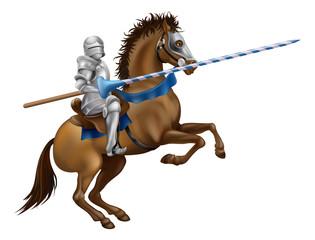 Papiers peints Chevaliers Jousting knight