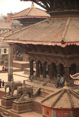 Building at Patan Durbar Square,Kathmandu city in Nepal.