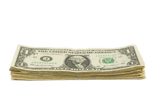 Dollar Bill Stack