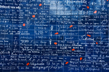 63 - wall of love Paris