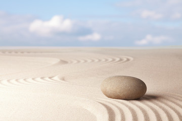 Obraz Meditation zen garden background - fototapety do salonu