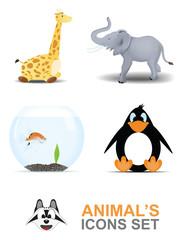 Animal's icons set