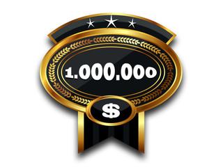 MEDAL - 1.000.000 $