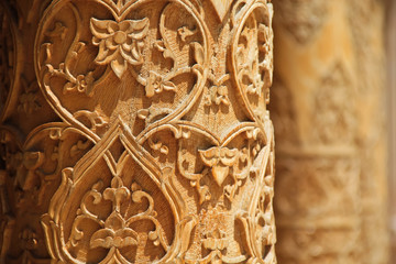 the art of stone carving in Turkey