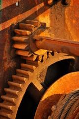 Rusty Gear Wheels