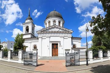 Obraz Cerkiew Św. Mikołaja w Białymstoku - fototapety do salonu