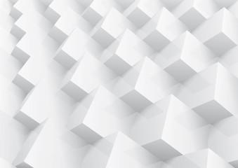 Geometrycznie ułożone kostki 3D