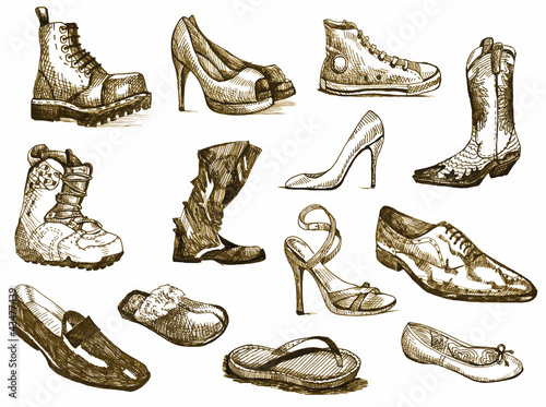 different types of shoes essay